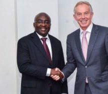 Tony Blair calls on Bawumia