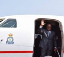 Akufo-Addo leaves for Cote d'Ivoire, France