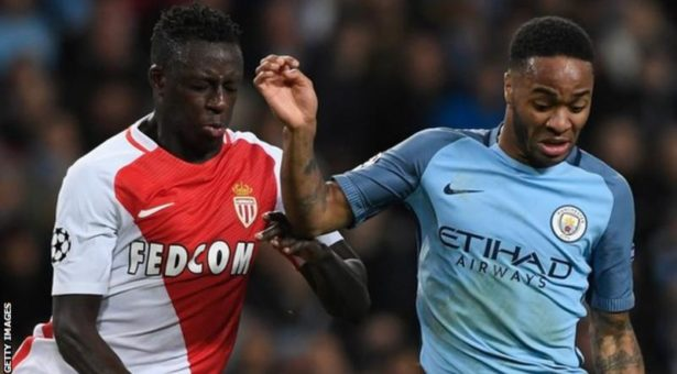 Man City agree £52m deal for Monaco left-back
