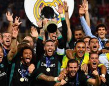 Real Madrid beat Man Utd in Super Cup