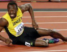 Bolt injured in final race of career