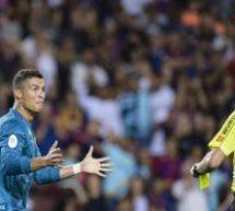 Ronaldo handed a five-match ban