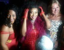 Stephanie Benson celebrates 50 with mega bash