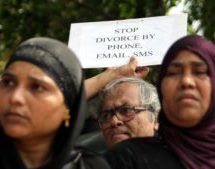 Indian court rules against instant divorce
