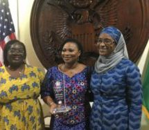 US govt gives EC boss 'Woman of Courage' award