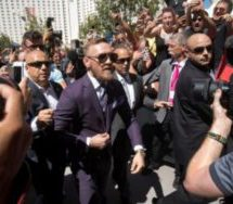 Chaotic scenes greet first Mayweather- McGregor event