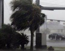 Hurricane Harvey makes Texas landfall