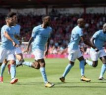 Sterling rescues Man City before seeing red