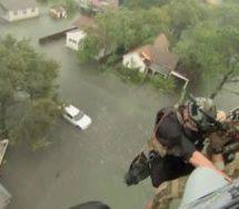 Blast fears over flooded Texas plant
