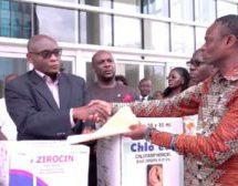 Tobinco donates $58,000 drugs to Sierra Leone