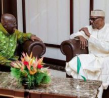 Akufo-Addo visits Buhari