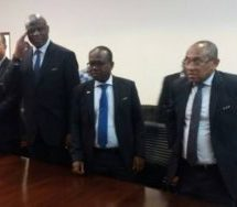 CAF president meets Bawumia