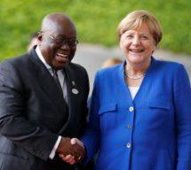 Akufo-Addo congratulates Merkel