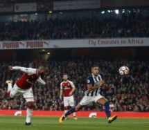 Lacazette scores twice as Arsenal beat West Brom