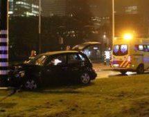 Man City's Aguero involved in car crash