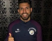 Aguero 'hurting but fine' after suffering broken rib in car crash