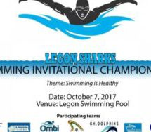 2017 Legon swimming championship competition announced
