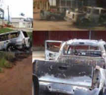 Wassa shooting: 4 arrested, dozens of cars burnt