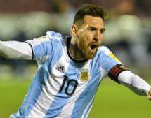 Messi saves Argentina