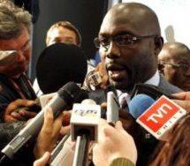 Weah leads in Liberia polls
