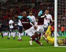 Hammers fight back to stun Spurs