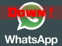 WhatsApp goes down