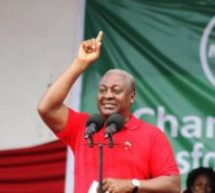 NDC's 10 chairmen endorse Mahama for 2020