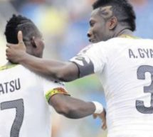 Gyan, Atsu to miss Egypt showdown