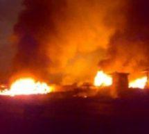 Fire guts Fountain Gate School