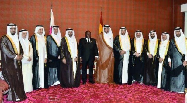 Akufo-Addo invites Qatari businesses to invest in Ghana
