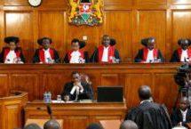 Kenya SC upholds Uhuru Kenyatta poll win