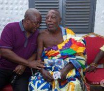 Mahama visits Super O.D.