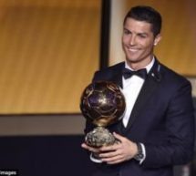 Ronaldo wins Ballon d'Or for a 5th time