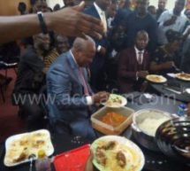 [VIDEO] Mahama dines with NDC MPs