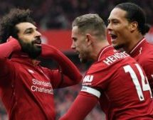 Salah: Four wins will give Liverpool the title