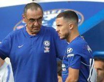 Hazard urges Chelsea to stick with Sarri next season