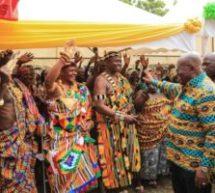 54km Jasikan-Dodo Pepesu road starts in July – Akufo-Addo