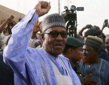 Buhari sworn in as Nigerian president